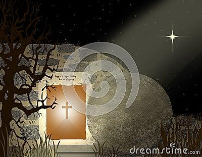 He Is Risen Print - Easter
