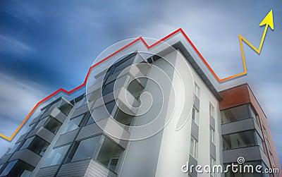 Rising apartment prices