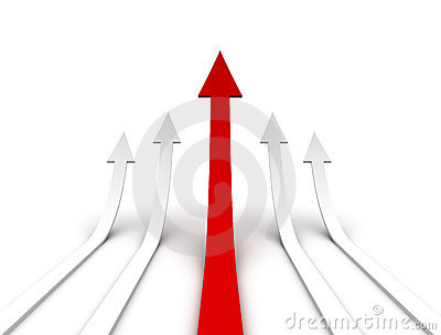 Rising arrows