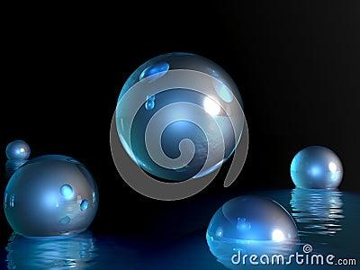 Rising fantasy balls