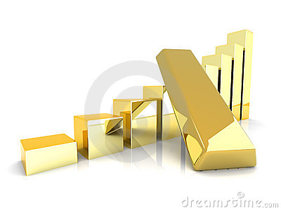 Rising gold