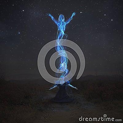 Free Rising Spirit Stock Image - 66532691