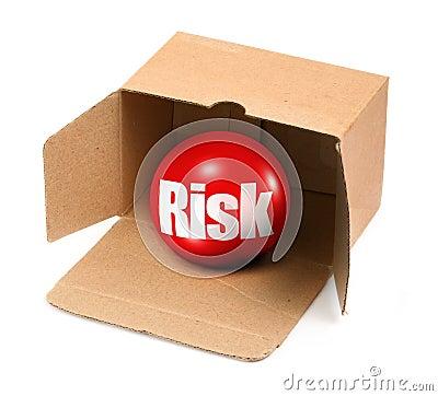 Free Risk Concept In Box Stock Image - 32050941