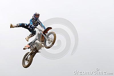 Risky stunt Editorial Stock Photo