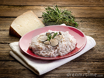 Risotto with truffle