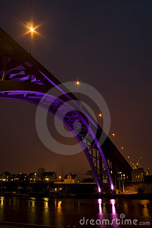Risoy Bridge Nightshot