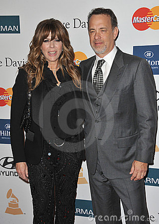 Rita Wilson, Tom Hanks Editorial Photography