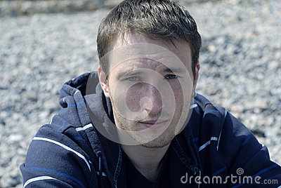 Ritratto del giovane freckled
