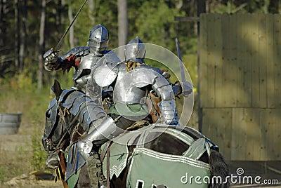 Ritter im kf lizenzfreie stockbilder bild 7111649