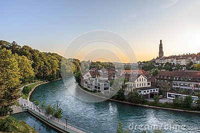 River Aar, Bern, Switzerland