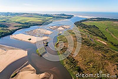 River Banks Ocean Cane Air