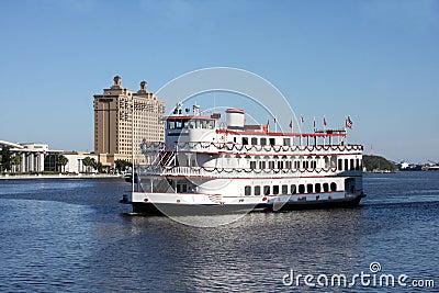River boat at Savannah , Georgia