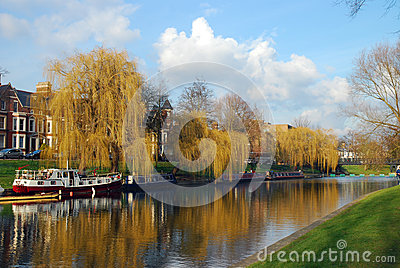 River Cam in Cambridge, United Kingdom