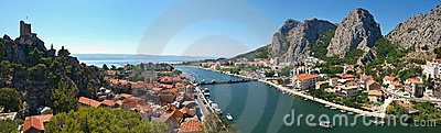 River Cetina and Omis
