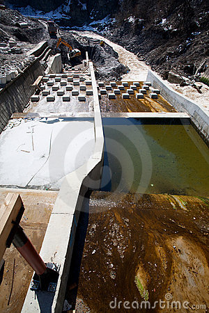 Free River Construction Site Stock Image - 22032071