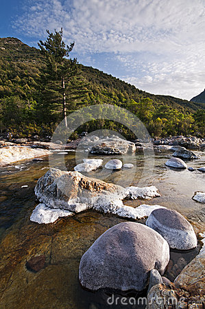 River in Corsica