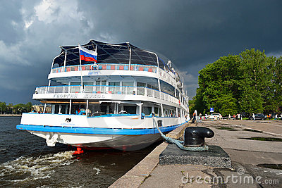 River cruise ship Editorial Photography
