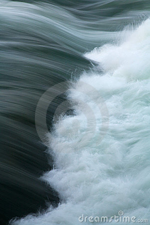 Free River Current Whitewater Rapids Royalty Free Stock Images - 5336279