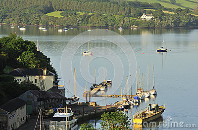 River Dart boatyard, Devon