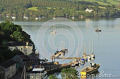 River Dart boatyard, Devon