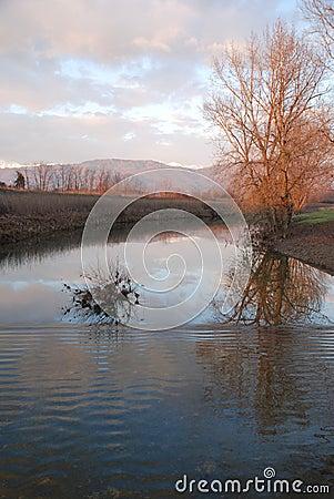 River at Dusk, Friuli