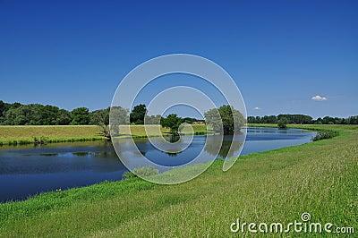 River Elbe, Brandenburg, Germany