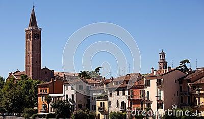 River front in Verona