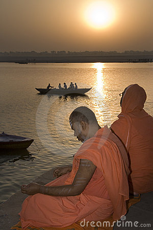 River Ganges - India Editorial Image