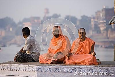 River Ganges - Varanasi - India Editorial Stock Image