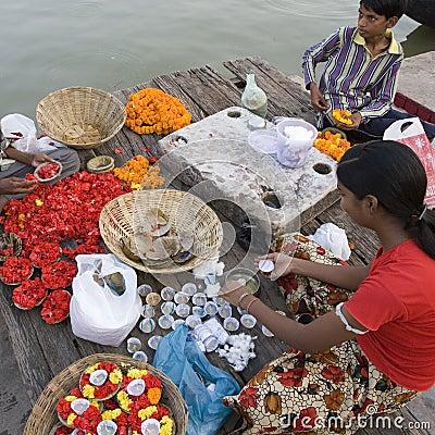 River Ganges - Varanasi - India Editorial Photography