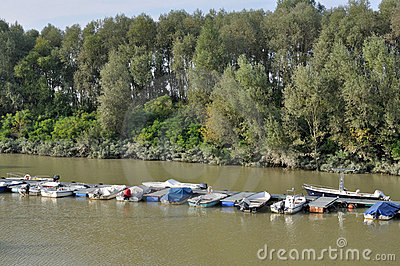 River harbor, emilia