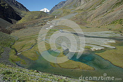 River Issyk Ata