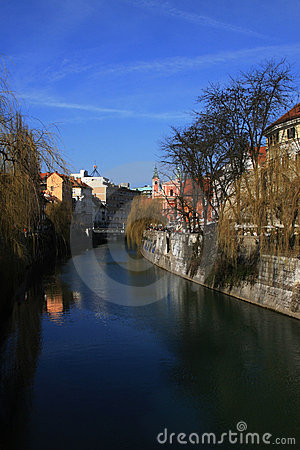 River of Ljubljana