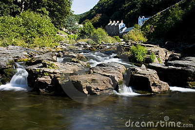 River Lyn in Exmoor