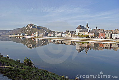 River Meuse and Givet
