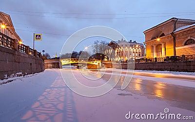 River Moika in St Petersburg