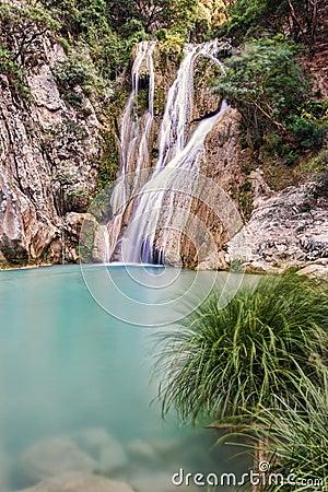 Free River Neda Waterfalls Royalty Free Stock Image - 86538296