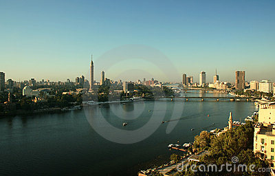 The River Nile at Cairo