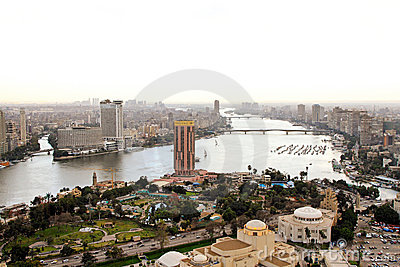 River Nile Cairo Editorial Photography
