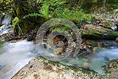 River in Ojo Guareña