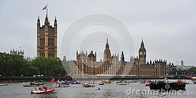 River Pageant June 3rd Editorial Photography