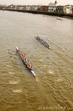 River Race Editorial Image