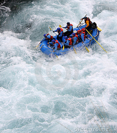 Free River Rafting Stock Image - 419111