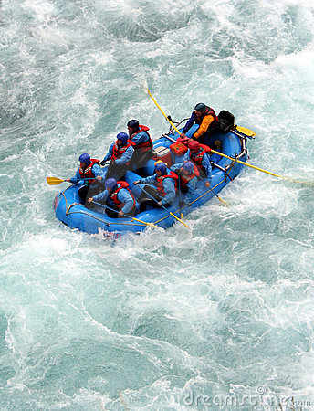 Free River Rafting Stock Photography - 419112