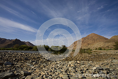 River in the Richtersveld, South Africa.