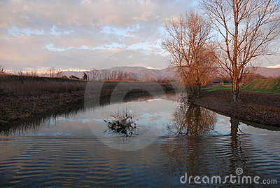 River with Ripples, Friuli
