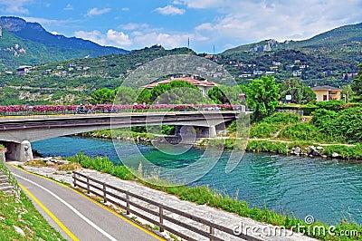 River in Riva del Garda