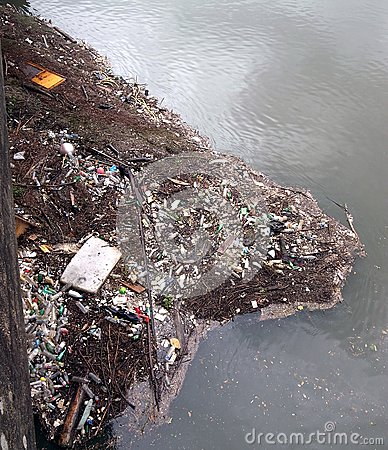 River rubbish