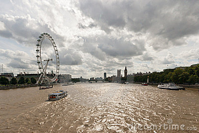 The River Thames Editorial Image