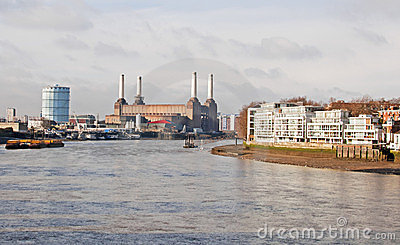The River Thames at Battersea
